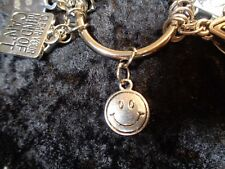 Happy people make better choices - Happy Face Charm for Weight Watchers Keyring
