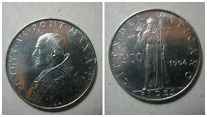 Citta' del Vaticano / Vatican Paolo VI 100 Lire 1964 qFDC/aUNC