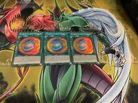 YUGIOH: 3x Thunder Dragon Fusion Super Rare Near Mint FAST