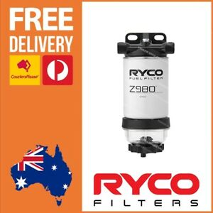 Ryco Universal Fuel Water Separator for Diesel, Petrol, 4x4 & Boat Engines