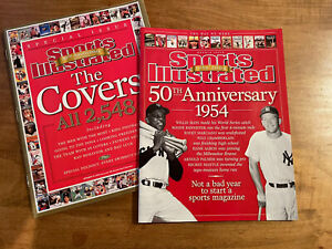 SI Sports Illustrated 50TH ANNIVERSARY Issue 2004 & THE COVERS Issue 2003 *Mint*