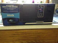 EUC ACTIVATED SIRIUS STILETTO 10 sl10 receiver + BOOMBOX slex1 SL EX1 READ ALL
