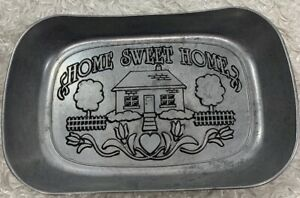 Wilton Armetale Home Sweet Home Bread Tray Large 10 3/4 x 7""