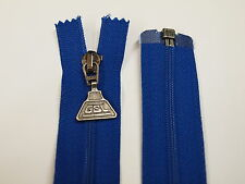 Open END 60 cm blu zip ideale per qualsiasi idea creativa