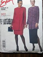 McCall's Sewing Pattern no. 9431 Ladies suit sizes 8-10-12-14