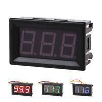 DC 0-99V 3 Wire LED Digital Display Panel Volt Meter Voltage Voltmeter Car@T3J3