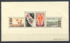 Benin 1966 Mi. Bl. 5 Foglietto 100% ** Scout, cultura