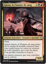 MTG Magic DOM - (x2) Garna, the Bloodflame/Garna, la Flamme de sang, French/VF