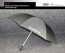 Audi quattro Original Regenschirm Stockschirm schwarz 3121600100 Schirm