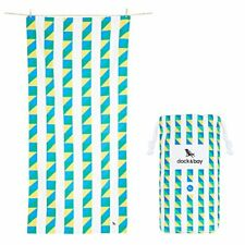 Dock  Bay Quick Dry Travel Beach Towels - Extra Large, Carnival BlueGreenYel