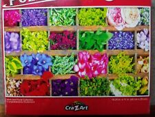 New 500 Piece Jigsaw Puzzle (Herb and Floral Collection) Challenging