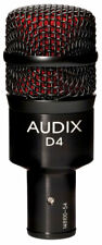 Audix D4 Hypercardioid Dynamic Drum and Instrument Mic - Toms Bass Cabinets