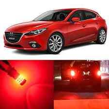 Alla Lighting Brake Turn Signal Light 3157 3757AK Red LED Bulb for 09~13 Mazda 6