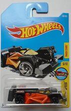 2017 Hot Wheels LEGENDS OF SPEED 6/10 Flash Drive 147/365 (Black)(Int. Card)