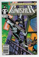 The Punisher #1 Newsstand Edition (Jul 1987, Marvel Comics)