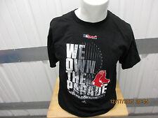 MAJESTIC BOSTON RED SOX 2013 WORLD SERIES CHAMPIONS LARGE BLACK SHIRT PARADE