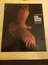 1984 BUICK MOTORCAR COMPLETE DIVISION DEALER SUPPLIED BROCHURE EXLNT CONDITION!!