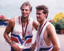 Sir Steve Redgrave, Olympic rowing champion, signed 10x8 photo. Proof. COA.