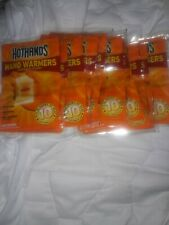 HotHands Hand Warmers 10 Hours of Heat (10 pairs -20 Warmers) Brand New Packs