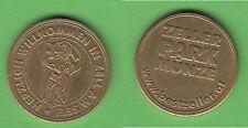 parking token Salzburg Zell am See ca. 4,45 g ca. 21,5 mm gebr.fleckig Kratzer