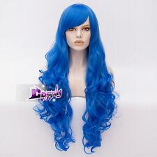 Cosplay Corpse Bride Tim Burton's Corpse Bride Blue Curly Hair Wig/Wigs