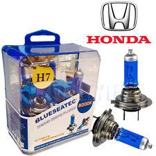 HONDA Xenon White H7 Halogen Headllight Dipped Bulbs 6000k (PAIR)