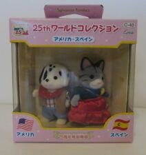 New Sylvanian Families Around the World USA and Spain Figures