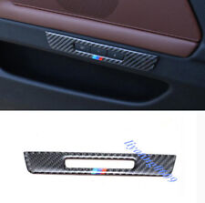 Carbon Fiber Seat Memory Switch Button Cover Trim For BMW F10 5 Series 2011-2017