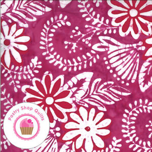 CONFECTION BATIKS 27310 60 Red Pink Raspberry Moda Kate Spain Quilt Fabric