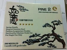 "Pine HBW #38x1.2""(0.18mmx30mm) bulk puncture needle 200 pcs single tube"