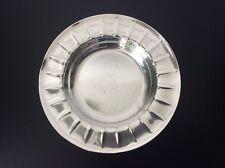 Assiette à bouillie en métal argenté poinçons Christofle Gallia Art Déco