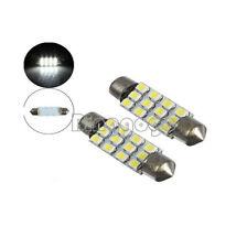 4Stks Car Dome 12 3528-SMD LED Bulb Light Interior Festoon Lamp 42mm White Great