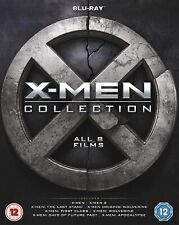 X-Men 8 Movie Collection - Blu-Ray Limited Edition Box Set [Region Free] New