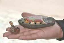 Vintage Penny/Miniature Anchor Mark Litho Steam Boat Tin Toy, Japan