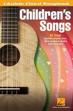 Children's Songs Sheet Music Ukulele Chord SongBook NEW 000702473