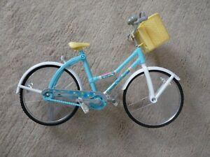 Dekoration Miniatur Country Damen Girl Fahrrad Drahtesel Design Pastell Geschenk