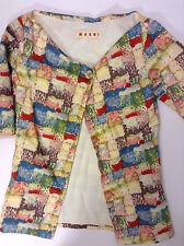 MARNI One button abstract print women's blazer - Size 38 (6US) -original $1085