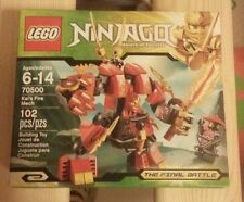 Placeholder LEGO Ninjago Kai's Fire Mech (70500) Authentic