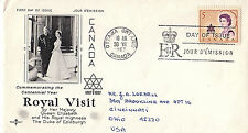 CANADA - ROYAL VISIT - 471 FDC - ROSE CRAFT CACHET -  1967