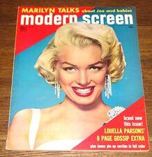 MARILYN MONROE AUTHENTIC ORIGINAL USA MODERN SCREEN MAGAZINE SEPTEMBER 1954