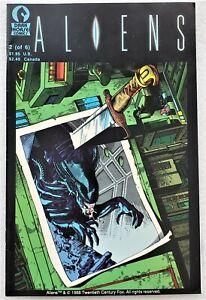 1989 Dark Horse ALIENS #2 (of 6) 4th Print - low print run rare fourth printing