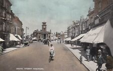 WORTHING - SOUTH STREET COLOUR POSTCARD