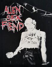 ALIEN SEX FIEND GOTHIC BLACK CANVAS BACK PATCH
