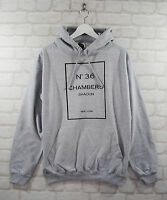 Actual Fact Wu Tang 36 Chambers Grey College Hoodie Hoody Pullover Top