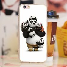 Cute KungFuPanda Pattern Shockproof Soft TPU Phone Case Cover for iPhone 7Plus