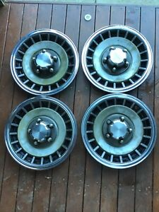 FORD F100 F150 F250 F350 F TRUCK BRONCO 4X4 15''HUB CAPS wheel caps