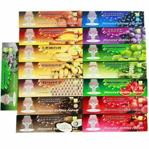 HORNET FLAVOURED PAPERS KING SIZE SLIM CIGARETTE ROLLING RIZLA PAPER PICK N MIX