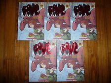 NEW Lot of 5 BONE ROSE Jeff Smith GUIDED READING Lit Circle books GRAPHIC NOVEL