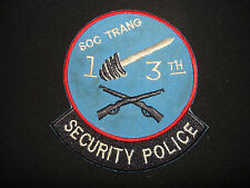 Vietnam War Patch US 13th Aviation Bn Security Police Sq At SOC TRANG Province