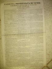 M173PADOVA-SUPPLEMENTO DELLA GAZZETTA PRIVILEGIATA DI VENEZIA-EL. LAUR.MED.1838